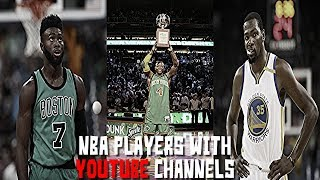 5 NBA Players WITH YouTube Channels