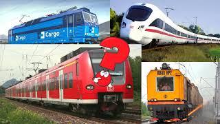Учим поезда. Развивающее видео