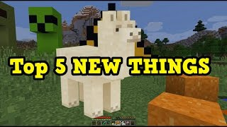 Minecraft Xbox 360 / PS3 Top 5 FEATURES Coming (1.11/1.12)