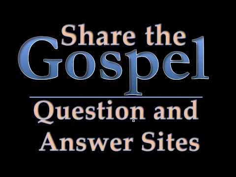 LDS online missionary tutorial: Using Question and Answer Sites