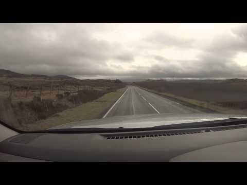 A drive from Uig to Portree, and Solo Caravanning - ScotVlog17