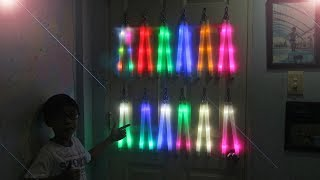 Giới thiệu Côn đèn - Côn nhị khúc phát sáng - P.3