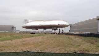 Dragon Dream airship first flight