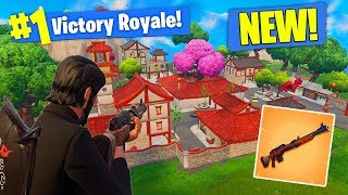 *NEW* SNIPER & CITY GAMEPLAY In Fortnite Battle Royale!