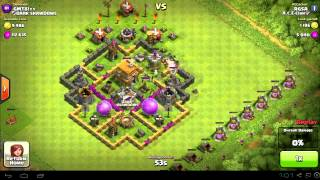 Clash of clans - INSANE attack! 3 stars 58 trophies in one minute! (NO HACKS!)