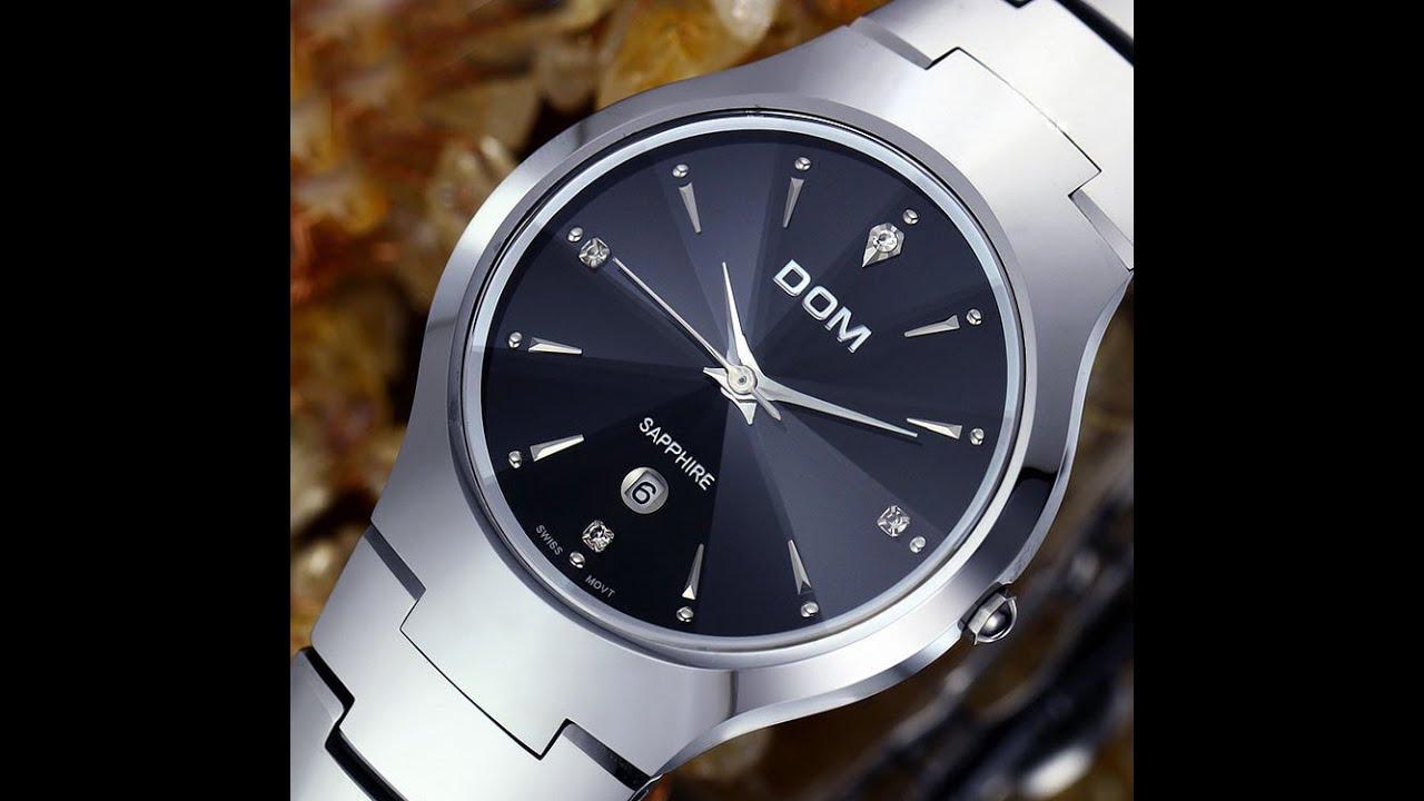 Часы DOM. Суперпрочные часы. - YouTube