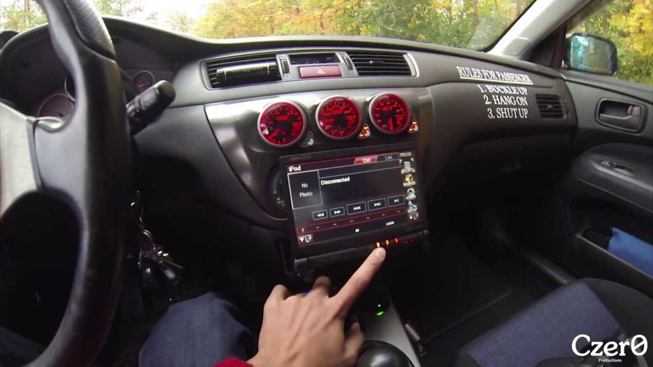 Evo Interior Walk Through (Gauges And Gadgets)   YouTube
