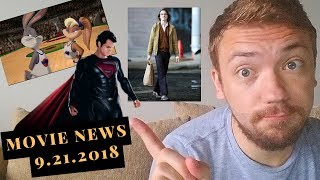 SPACE JAME 2 AND NO MORE SUPERMAN - Movie News 9.21.18
