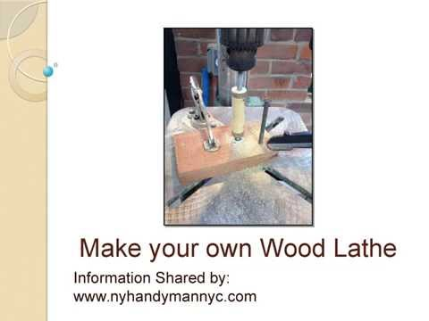 Make your own wood lathe | DIY | NYHandyman NYC