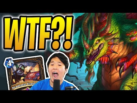 TWO EMERISS FOR TWO MANA?! | Auto Complete Academic Espionage Rogue | Rastakhan's Rumble