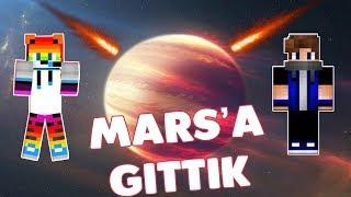 MARS'A GİTTİM !?!  Minecraft Mars Lucky block
