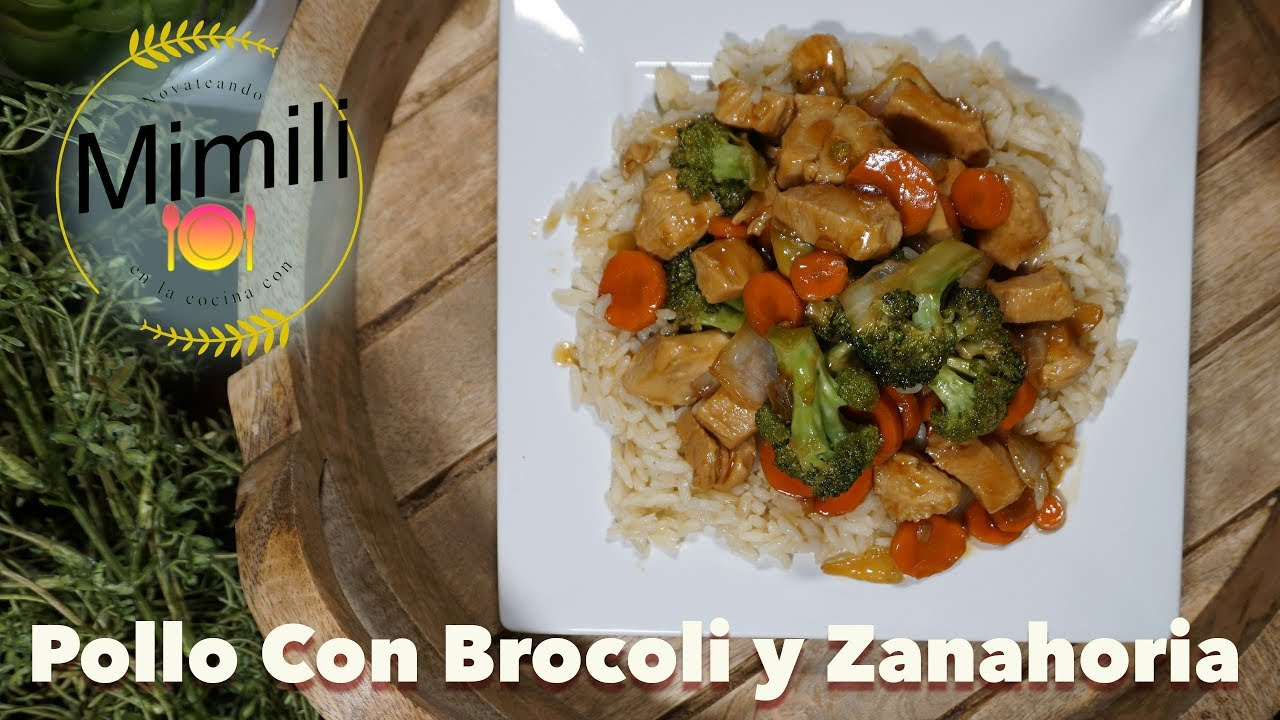 como preparar brocoli con pollo estilo chino