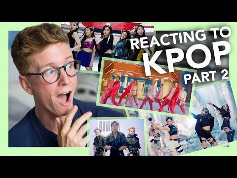 Reacting To K-pop Part 2 (blackpink, Bts, Monsta X & More!!)
