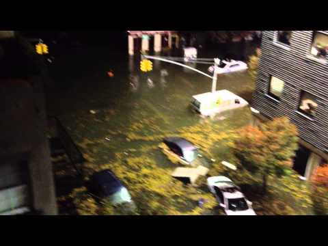 Hurricane Sandy vs. Loisaida: storm surge takes Ave C in East Village