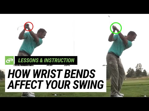 Learn how wrist bends affect your golf swing - The GOLFTEC