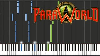 Tilman Sillescu - ParaWorld Main Theme | Piano Tutorial
