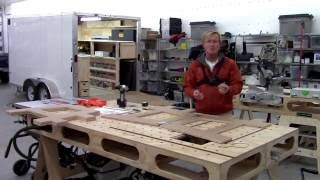 BUILDING THE PAULK COMPACT BENCH (PART 3) SAWHORSES