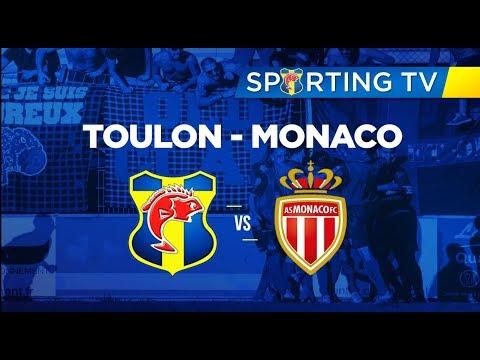 SPORTING CLUB TOULON - AS Monaco (5-0) : 23ème journée de National 2 (17/03/2018)