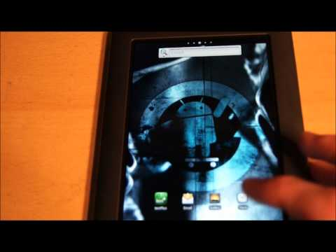 My Nook Color Dual Booting Stock Nook Cyanogen Mod Android Rooted Sd Card