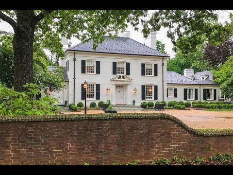 Historic Georgian Residence in  Charlottesville, Virginia