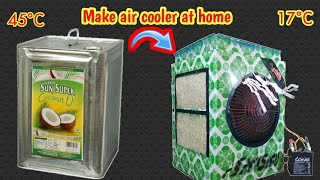 How to make 12v | Dc cooler at Home| Easy tricks 2018