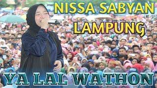 Download lagu NISSA SABYAN KONSER SABYAN GAMBUS PRINGSEWU LAMPUNG MP3