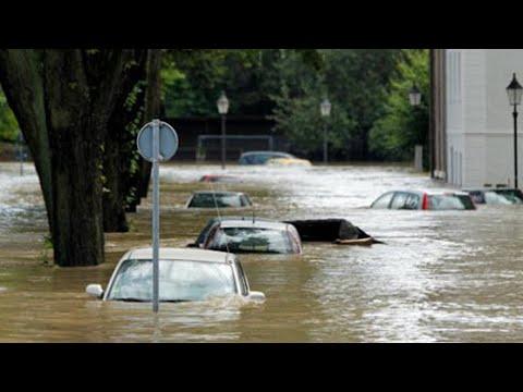 Наводнение в Молдове.