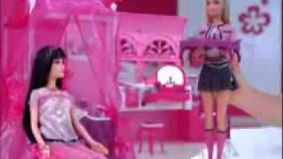 2009 Chinese Sweet Pink Barbie House Commercial