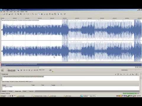 Cut long playing mp3 into tracks with CD Architect