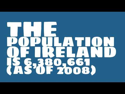 What is the population of Ireland?
