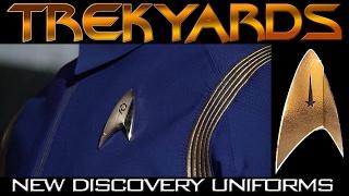 New Discovery Uniform Revealed (Star Trek Discovery 2017)