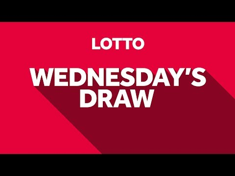 The National Lottery 'Lotto' draw results from Wednesday 23rd June 2021