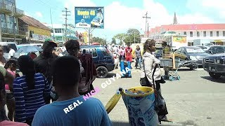 Walking Georgetown streets, Guyana Il Real Nice Guyana (HD)