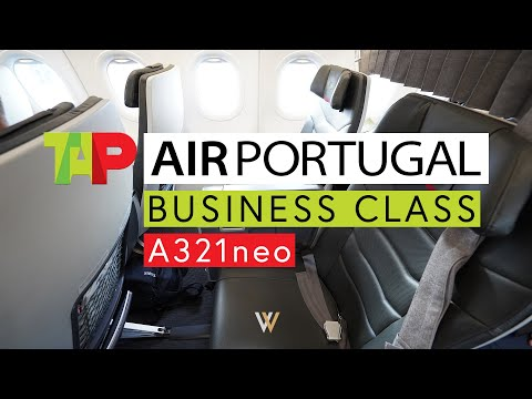 TAP Air Portugal A321neo Business Class