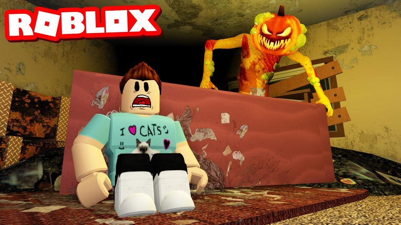 THE PUMPKIN PLAYHOUSE - A Roblox Horror Story
