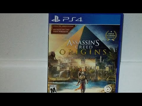 Unboxing assassin's creed origind with season pass |