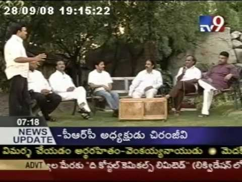 Discussion About Andhra Pradesh Political Parties Alliance, Part-I, 29-09-2010.