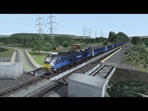 TS2016 HD: Operating British Rail Class 68 On NJT Bergen County Line (Suffern to Hoboken) 7/19/16