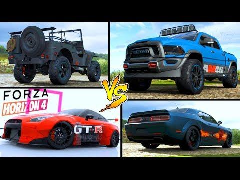 Tutte le AUTO di Affari a 4 Ruote - CONFRONTO Forza Horizon 4 thumbnail