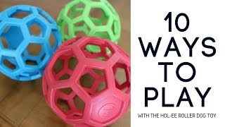 10 uses for the Hol-ee Roller dog toy