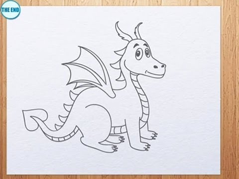 How To Draw A Dragon Kids