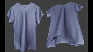 Creating a realistic Shirt in Blender for Beginners