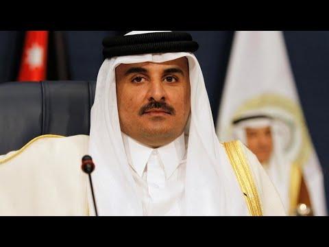 أمير قطر تميم بن حمد آل ثاني في زيارة رسمية للجزائر  - نشر قبل 3 ساعة