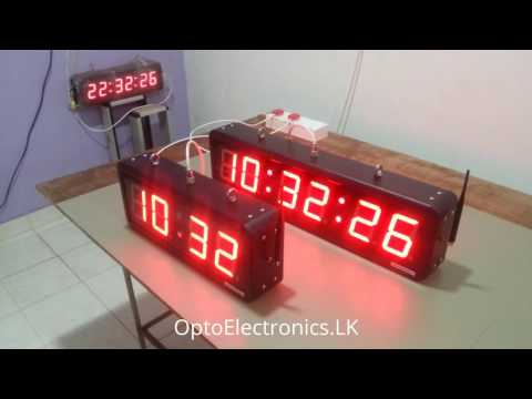 PRECISION DIGITAL CLOCKS - SYNCHRONIZED