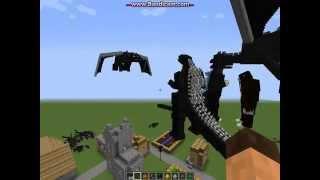 Minecraft Godzilla Mod Update part 1 of 2