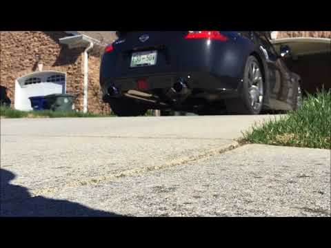 Repeat 370z Motordyne Exhaust and ART pipes(start up) by lee