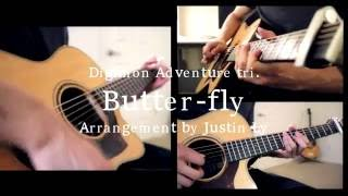 Digimon Adventure tri. - Butter-Fly (Acoustic guitar cover)