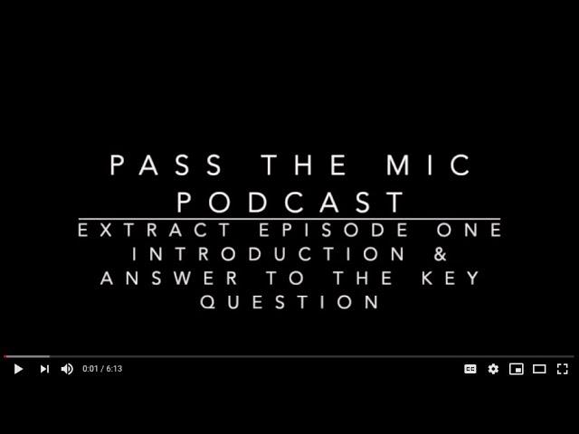 Philosophy - Short Bites. Episode #2 - Participant's Perspectives on the Key question.