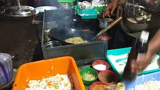 Hotels - Chicken Noodles Recipe -  Chinese Chicken Noodles - Trichy market Tharmar fast food