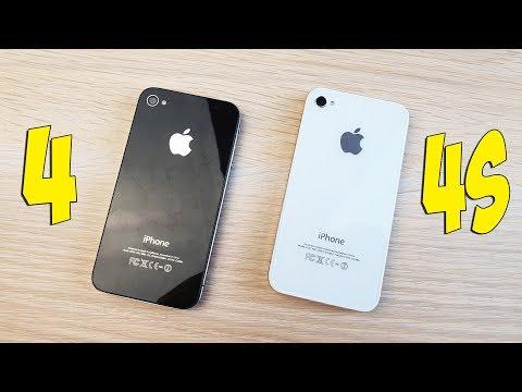 IPHONE 4 VS IPHONE 4S - В ЧЕМ РАЗНИЦА? ПОЛНОЕ СРАВНЕНИЕ